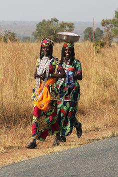Africa...Kanua market and the Fulani