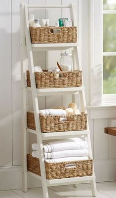28 Small Bathroom Storage Ideas To Fix Clutter - Gail Boutilier - Mix 28 Small B. 28 Small Bathroom Storage Ideas To Fix Clutter - Gail Boutilier - Mix 28 Small Bathroom Storage Ideas To Fix Clutter - Gail Boutilier - Small Bathroom Storage, Bathroom Design Small, Diy Bathroom Decor, Simple Bathroom, Bathroom Furniture, Bathroom Interior, Diy Home Decor, Bathroom Ideas, Bathroom Organization