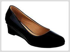 Pumps Damen Schuhe TOP High Heels Plateau 8980 Schwarz 39
