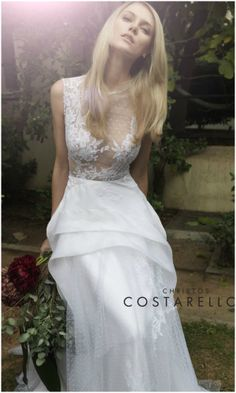 Suknie ślubne 2014: Christos Costarellos