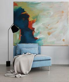 Große moderne Original-Gemälde abstrakte Kunst Acryl auf