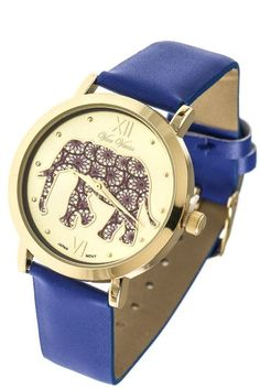Mandala Elephant Watch