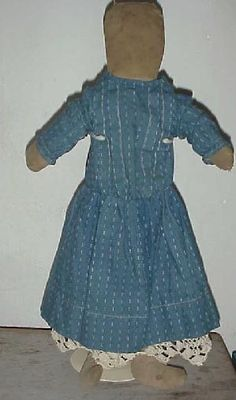My favorite rag dolls have no face!