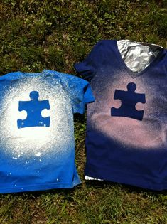Cute for Light it up Blue..DIY t-shirt
