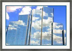 City Building Framed Art