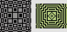 Artwork by at Grid Paint. Bead Loom Patterns, Weaving Patterns, Lace Patterns, Mosaic Patterns, Craft Patterns, Cross Stitch Patterns, Graph Design, Chart Design, Knitting Charts