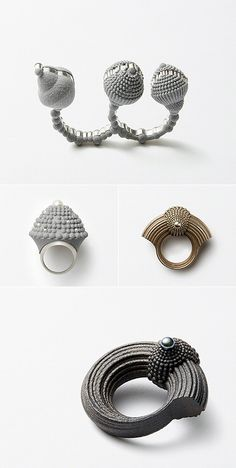 TheCarrotbox.com modern jewellery blog : obsessed with rings // feed your fingers!: January 2015
