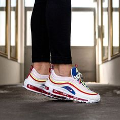Nike Air Max 97 - Cheap Nike Air Max Trainers & Shoes Sale Outlet, More Than Discount, Shop Online Today for Free Delivery & Next Day Shipping! Buy Sneakers, Custom Sneakers, Air Max Sneakers, Nike Air Max Trainers, Mens Trainers, Air Max 97, Streetwear, Baskets, Basket Style