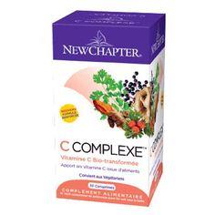 Vitamine C Complexe par NEW CHAPTER !