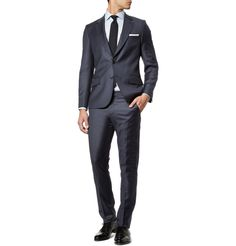 Paul Smith - two button navy suit