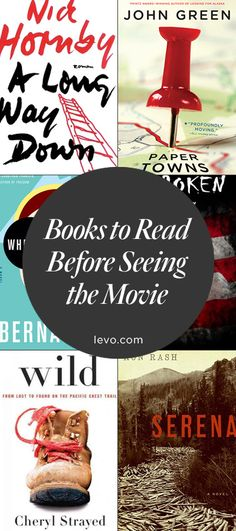 Must-read: #Books turned into movies! #LevoReads