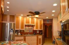 interior, Small Kitchen Design With Dining Room Ideas And Ceiling Fan With Lights For Kitchen Dining Ceiling Design And Small Kitchen Units Design With Cabinet And Stove Wood Dining Table Design And Kitchen Table: Stunning Modern Classic Home Interior Design