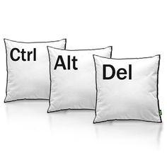 Almofadas Ctrl+Alt eDel - Conjunto