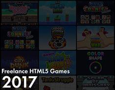 Freelance HTML5 Games 2017