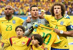 Overreaction: Brazil were looking backwards at Neymar's injury, not forwards to the game...