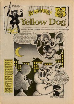 Skip Williamson (19 August 1944  16 March 2017 USA) was a cartoonist and central figure in the underground... Skip Williamson (19 August 1944  16 March 2017 USA) was a cartoonist and central figure in the underground comix movement known for being the most political and satirical cartoonist of his peers. In 1969 he produced Conspiracy Capers as a fund-raiser for the Chicago 8 funded with his friend Abbie Hoffmans advance on Steal This Book. At Comiclopedia  http://ift.tt/2bmgDma At Wikipedia…