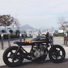 nenados:  By 'abandonedpier' on instagram: forever two wheels | #cb750 http://ift.tt/1fmxcHY —Please leave credits intact—