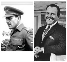 Terry Thomas was born Thomas Terry Hoar Stevens in London in 1911. An English comic actor, he made his first film in 1933. He joined Ensa on the outbreak of War but was called up in 1942, joining the Royal Corps of Signals. In 1943 he joined a Stars In Battledress Unit serving with them in North West Europe.He was demobbed  as a Sergeant in 1946. He went into T.V starring in the first British T.V sitcom in 1949 before moving into comedy films in the 1950`s.