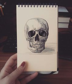 Sketch of skull Drawing Follow me on instagram @lucivavr_inkline Follow Me On Instagram, Skull, Sketch, Tattoos, Drawings, Sketch Drawing, Tatuajes, Tattoo, Sketches