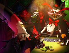 Cartoon Video Games, Cartoon Shows, Hazbin Hotel Husk, Monster Hotel, Alastor Hazbin Hotel, 4 Wallpaper, Vivziepop Hazbin Hotel, Butler Anime, Character Wallpaper