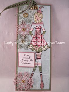 Lady Of Leisure Ink: Have Yours 'elf' a Merry Little Christmas (A Scrap N Place)