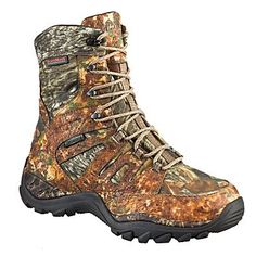 Wolverine® 8-Point 8'' Non-Insulated Waterproof Hunting Boots for Men - Mossy Oak® Break-Up® - $79.97 during the Fall Hunting Classic (August 2-18, 2013) at Bass Pro Shops