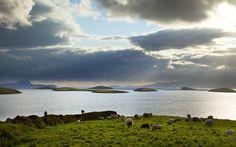 Ireland's Wild Atlantic Way: Clew Bay, County Mayo Ireland County Mayo Ireland, Bay County, Places To Visit Uk, Wild Atlantic Way, Images Of Ireland, Seaside Village, Irish Traditions, England And Scotland, Emerald Isle