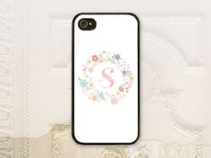 Girly pink phone case for iPhone 4 4S, iPhone 5 5S, & Galaxy S3 by LilStinkerDesign, $17.99+