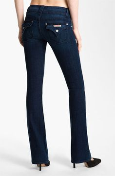 These are absolutely my favorite jeans of all time!! They make your butt look fantastic!! Hudson Jeans Bootcut Stretch Jeans (South Hall) | Nordstrom