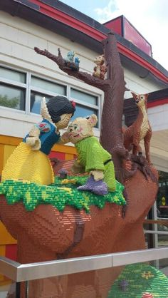 Picture taken at Lego store downtown Disney world 2015