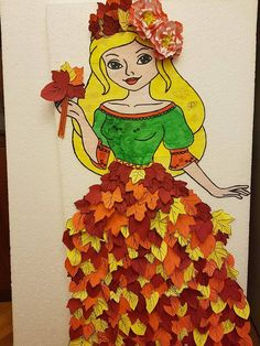 Best 12 Прикрашаємо школу та садочок до Свята о. Easy Fall Crafts, Fall Crafts For Kids, Crafts To Make, Art For Kids, Arts And Crafts, Sunflower Crafts, Seasons Activities, Diy Quiet Books, Paper Roll Crafts