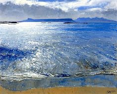 Charles Simpson Late Afternoon, Eigg and Rum
