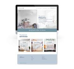 Web bocetA2: inicio | la otra creativa Projects, Studio Apartment Design, Design Logos, Creativity, Log Projects, Blue Prints