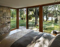 Casa con fachada met lica y construcci n ligera - Stonington residence by joeb moore partners ...