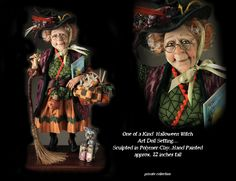 Creager Studios - Madda Gnatwick Gribblegob - a witch who is enjoying her retirement.