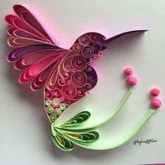 Arte Quilling, Paper Quilling Flowers, Paper Quilling Tutorial, Paper Quilling Patterns, Origami And Quilling, Quilled Paper Art, Quilling Paper Craft, Paper Crafts, Quilling Ideas