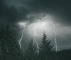 Lightning Sky – available as huge #Print