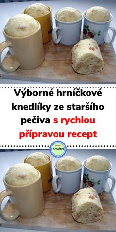 Czech Recipes, Ethnic Recipes, Cooking Tips, Cooking Recipes, What To Cook, I Love Food, Bread Recipes, A Table, Food And Drink