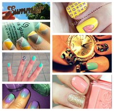 Summer-Nails-.jpg 614×597 pixels
