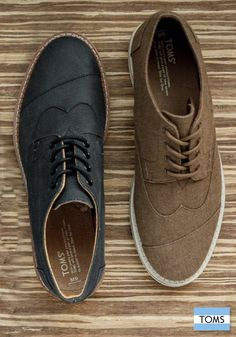 925113ac7b1d The Best Men s Shoes And Footwear   TOMS Men s Brogues will easily take  your style from day to night.