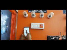Newqbitronics Wifi Lights Fan Remote
