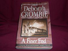 A Finer End by Deborah Crombie (2002 Mystery/Crime Novel Paperback)