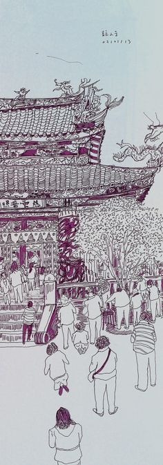 Longshan Temple / 龍山寺 by:Weichuen You from:My Little Room(http://weichuenyou.blogspot.jp/2013/01/ntue.html)