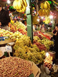 Fruit market,Iran..That's what I call Fruit market.....