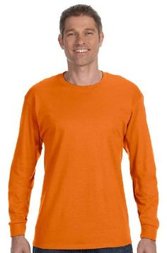 Tagless 6.1oz Long Sleeve T-Shirt, Or... $16.99 #bestseller