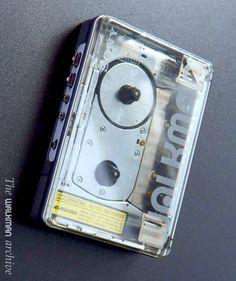 The Sony Walkman WM-504 Transparent (late 80s)