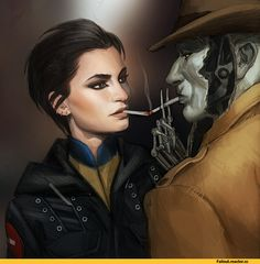 Fallout,фаллаут приколы,фэндомы,Fallout art,Fallout 4,Nick Valentine