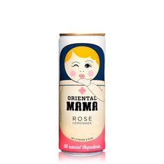 Oriental Mama Rose Lemonade 0.25L - Oriental Mama - Soft Drinks