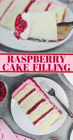 Raspberry Cake Filling – The Easiest Way to Elevate Any Dessert This raspberry cake filling is the perfect consistency, and is packed with that delicious tart raspberry flavor! It's sure to elevate any dessert! Cake Filling Recipes, Frosting Recipes, Cupcake Recipes, Baking Recipes, Dessert Recipes, Butter Frosting, Mini Desserts, Just Desserts, Delicious Desserts