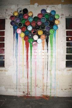 Si la peinture te tient à coeur... ! / Street art.